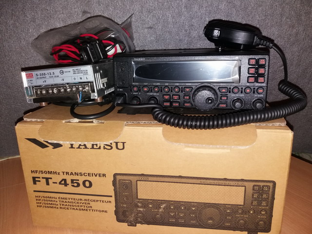 Продам FT-450AT, 4-BTV