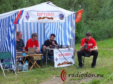 RP72RD «Радио Победы 72 Ростов Дон» на Мемориальном комплексе «Кумженская Роща»